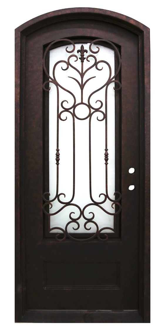 Amos Iron Door - 40 in. x 82 in.