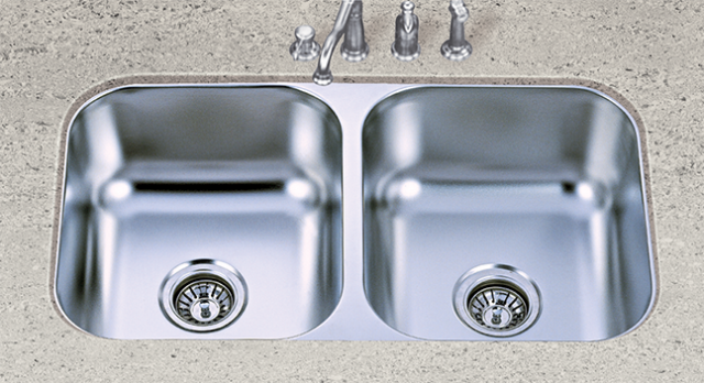 S601 Stainless Steel 50/50 Sink
