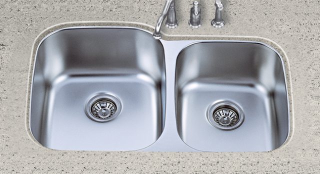 S601L Stainless Steel 60/40 Sink