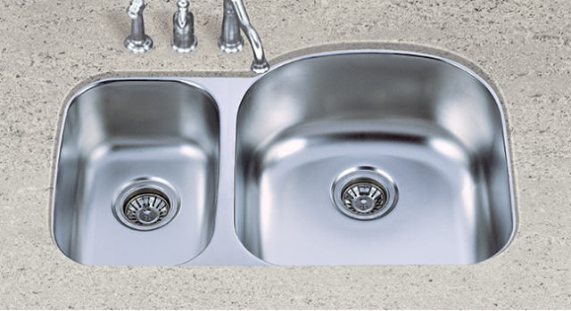 S602R Stainless Steel 60/40 Sink