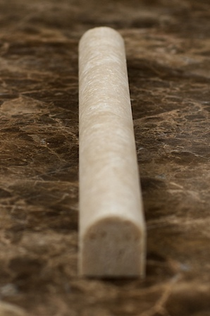 Light Travertine Molding 1x12