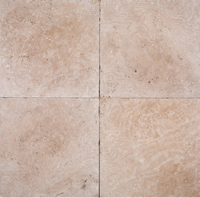 Classic Tumbled Travertine 6x6