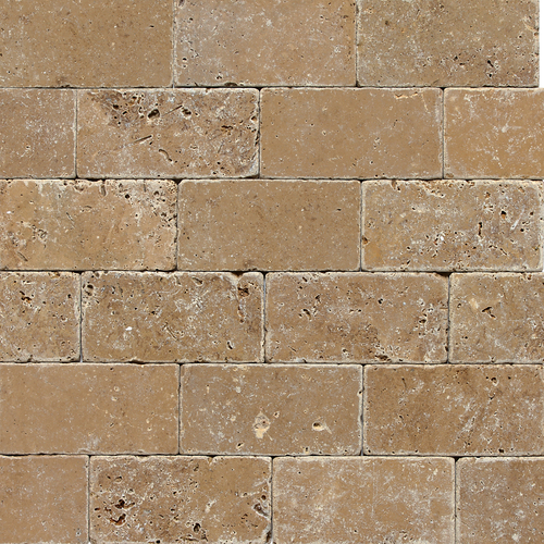 Noce Tumbled Travertine 3x6