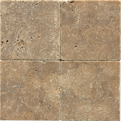 Noce Tumbled Travertine 6x6