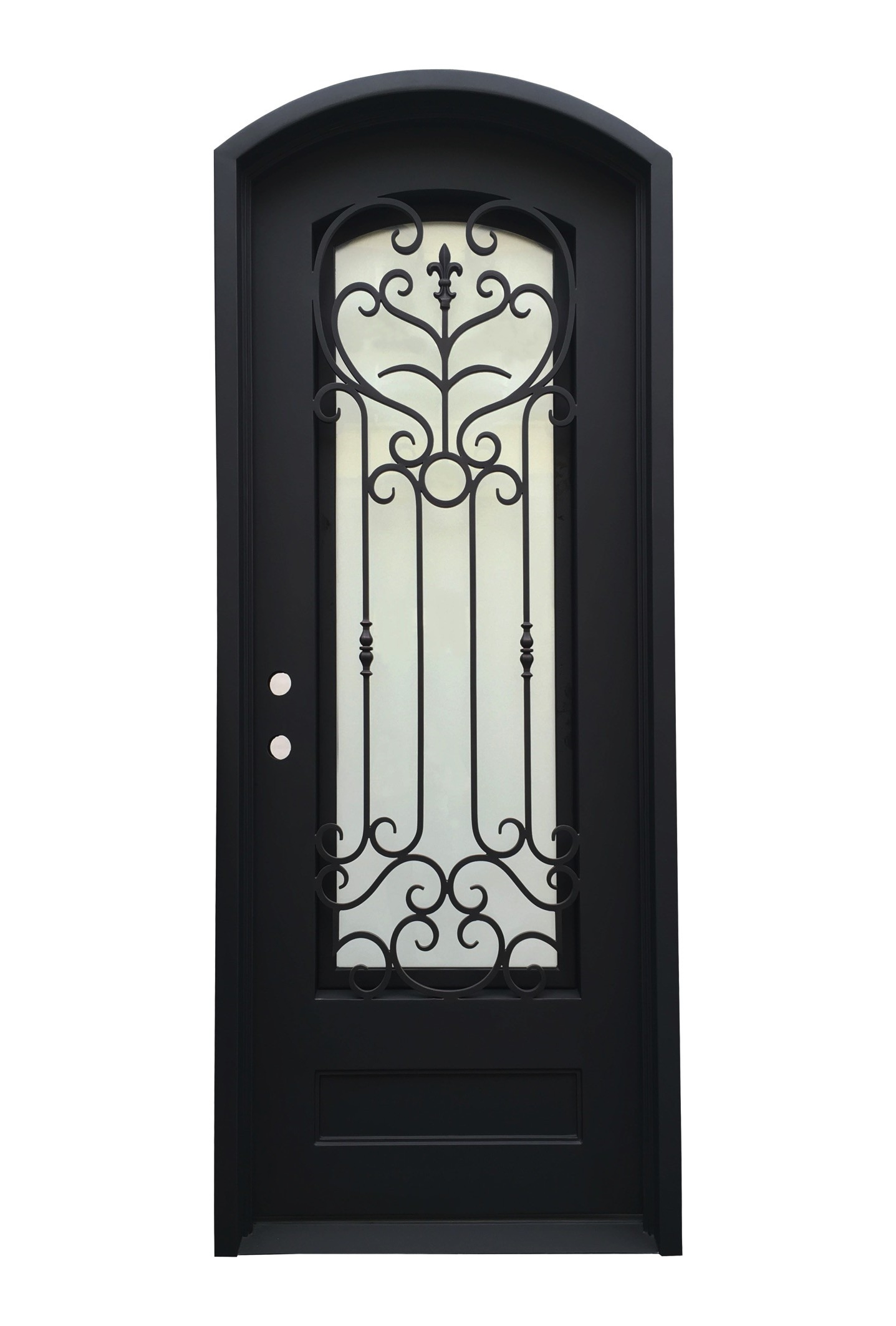 Amos Iron Door - 40 in. x 110 in.